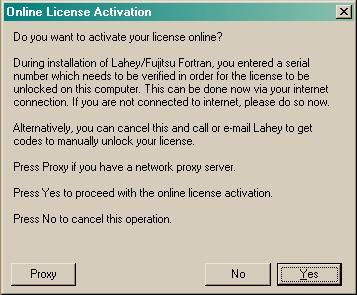 Product License Activation